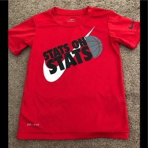 Nike boys dri fit top. Good condition. No rips